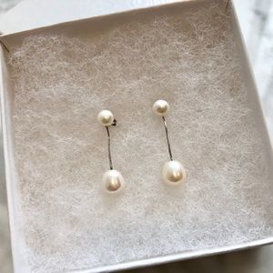 Jewelry - Freshwater cultured pearl earrings